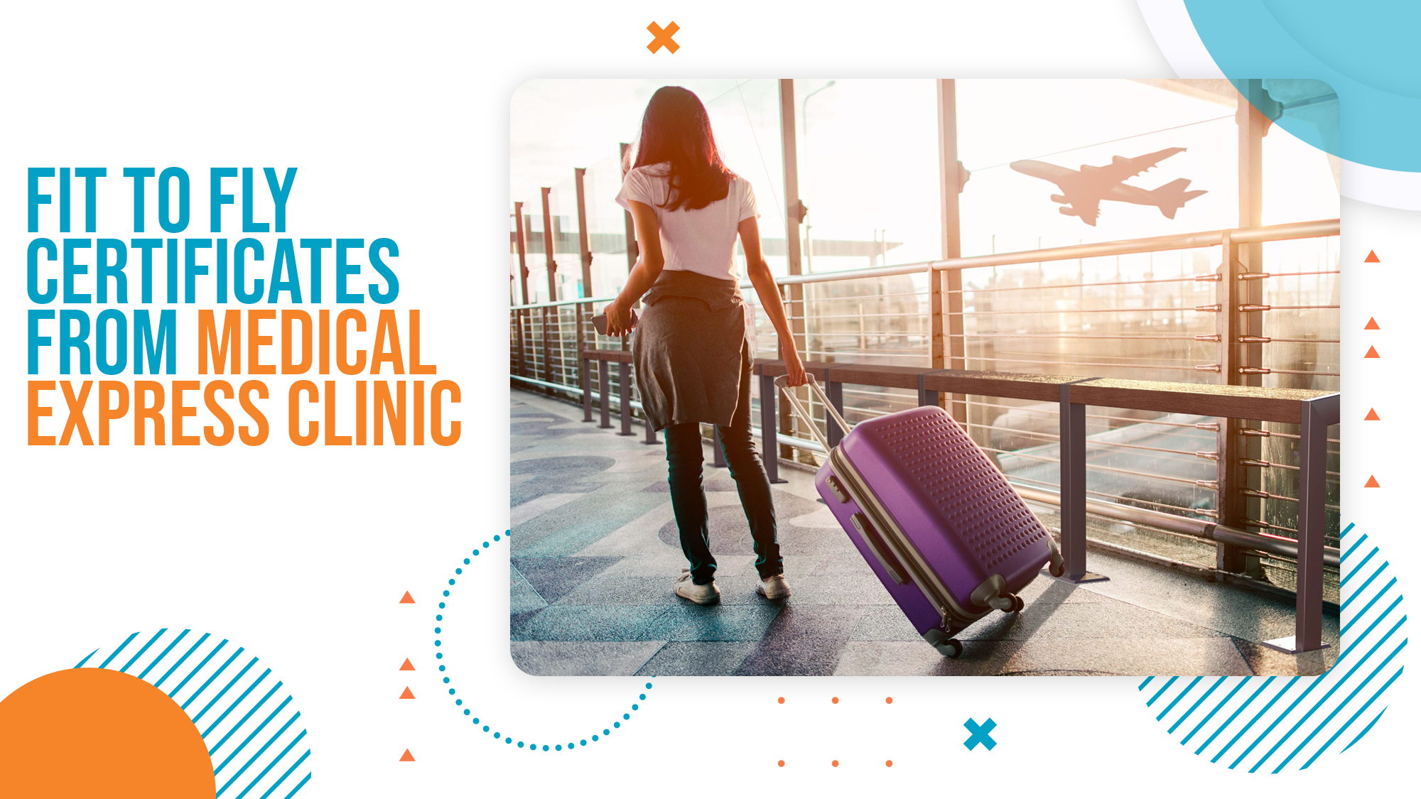 Fit To Fly Certificates from Medical Express Clinic UK
