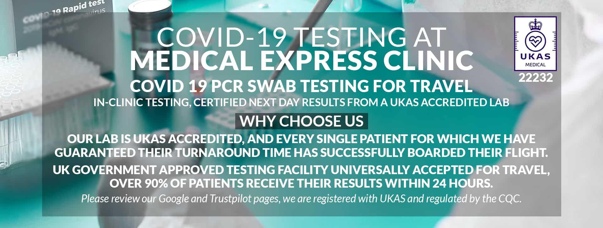 Covid-19 PCR Testing Service